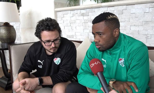 Bursaspor'un deneyimli stoperi Aurelien Chedjou, takımının ikinci yarı hazırlıklarını sürdürdüğü Antalya kampında açıklamalarda bulundu.