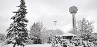 Başkentte kar yağışı