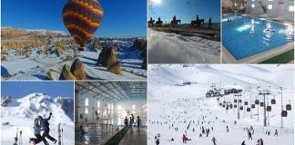 Kış tatilinin gözde üçlüsü: Kapadokya, Erciyes ve Kozaklı