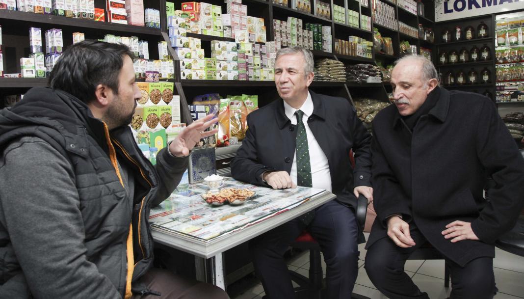 Yalçıntaş, Altındağ'da oturup ve Siteler'de çalışanların en büyük problemi olarak ulaşım ücretlerini gösterdi.