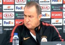 Galatasaray Teknik Direktörü Fatih Terim ve futbolcusu Marcao, yarın oynayacakları Benfica mücadelesi öncesinde basın mensuplarının karşısına çıktı.