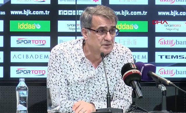 Beşiktaş Teknik Direktörü Şenol Güneş, Spor Toto Süper Lig'in 25'inci haftasında Atiker Konyaspor karşısında aldıkları 3-2'lik galibiyet sonrası basın toplantısında konuştu.