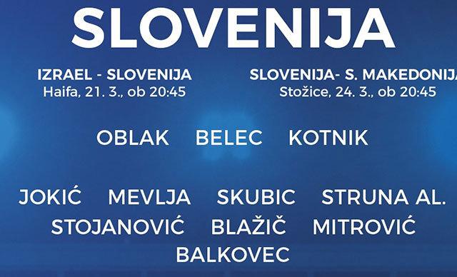 Fenerbahçeli Miha Zajc ve Atiker Konyasporlu Nejc Skubic, Slovenya Milli Takımı'na davet edildi.