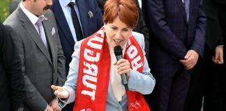 """İYİ Parti Genel Başkanı Meral Akşener, iki günlük Manisa programına Turgutlu ilçesinden başladı. Akşener, beka tartışmalarına değinerek, """"Bu bir yerel seçim. 'Beka beka' dediler."""