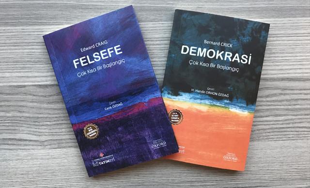 Oxford Üniversitesi Yayınevi'nin dünyaca ünlü 'Very Short Introductions' dizisinden seçtiği 27 kitaplık seçkiyi, Türkçe olarak yayımlamaya başladı.