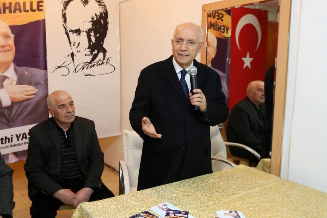 Yenimahalle Belediye Başkanı Fethi Yaşar, yoğun mesaisine devam ediyor. Yaşar, günlük programları kapsamında ilk olarak Demetevler de bulunan Yozgat Yenifakılı Kültür ve Dayanışma Derneği ile bir araya geldi.