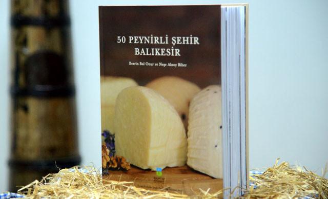 '50 Peynirli Şehir Balıkesir' kitabı, Frankfurt'ta düzenlenen'Dünya Yemek Kitapları Yarışması'nda 3 finalist arasına girdi.