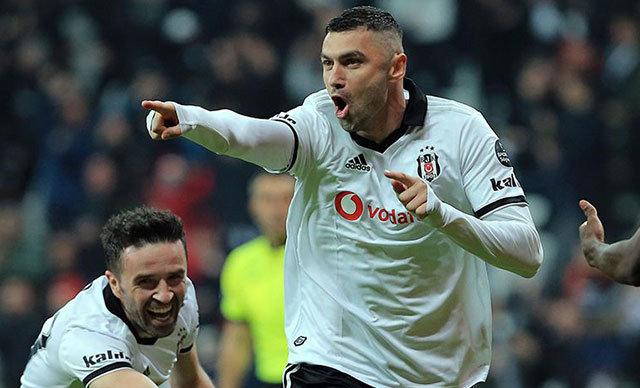 Spor Toto Süper Lig'in 2'nci yarısında gösterdiği performansla zirve yarışına ortak olan Beşiktaş'ta golcü oyuncu Burak Yılmaz, performansıyla parmak ısırtıyor.