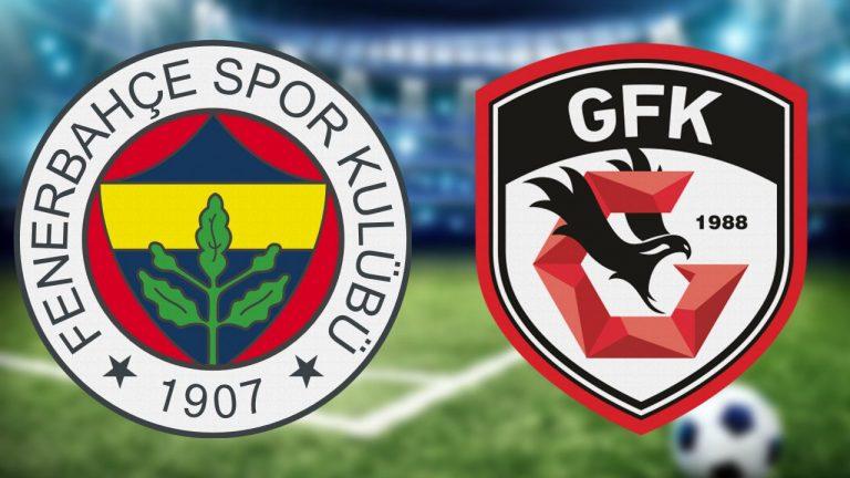 Fenerbahçe – Gazişehir Gaziantep maçının ardından