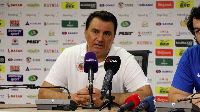 Gazişehir Gaziantep FK – Gençlerbirliği maçının ardından