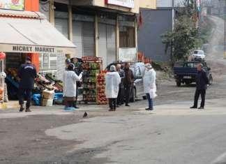 Rize'de, 'koronavirüs' karantinası